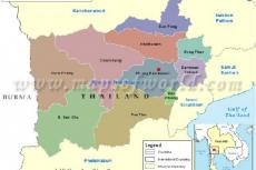 Map of Ratchaburi Province